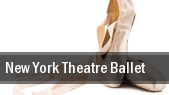 New York Theatre Ballet Florence Gould Hall tickets