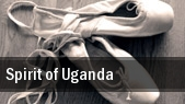 Spirit of Uganda tickets