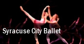 Syracuse City Ballet Syracuse tickets