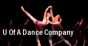 U of a Dance Company E.J. Thomas Hall tickets