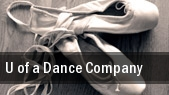 U of a Dance Company tickets