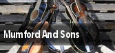 Mumford And Sons Stratford tickets