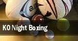 KO Night Boxing tickets