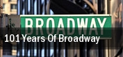 101 Years of Broadway tickets