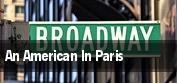 An American In Paris Washington tickets