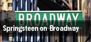 Springsteen on Broadway New York tickets
