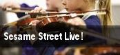 Sesame Street Live! Mahaffey Theater At The Progress Energy Center tickets