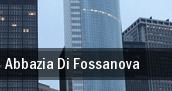 Abbazia Di Fossanova tickets