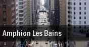 Amphion Les Bains tickets