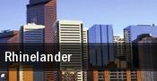 Rhinelander tickets