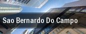 Sao Bernardo do Campo tickets