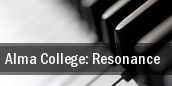 Alma College: Resonance tickets