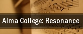 Alma College: Resonance Grand Rapids tickets