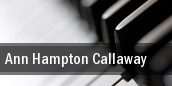Ann Hampton Callaway Mahaffey Theater At The Progress Energy Center tickets