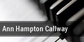 Ann Hampton Callway Tucson tickets