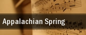 Appalachian Spring tickets