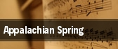 Appalachian Spring Hartford tickets