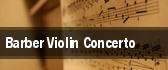 Barber Violin Concerto tickets