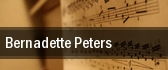 Bernadette Peters Burlington tickets