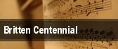 Britten Centennial tickets