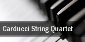 Carducci String Quartet Washington tickets