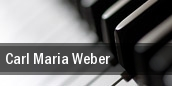 Carl Maria Weber tickets