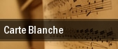 Carte Blanche Washington tickets