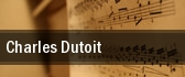 Charles Dutoit tickets