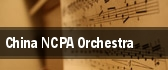 China NCPA Orchestra tickets