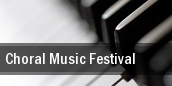 Choral Music Festival tickets