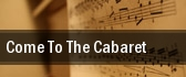 Come to the Cabaret Segerstrom Center For The Arts tickets