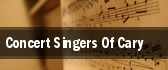 Concert Singers Of Cary Apex tickets