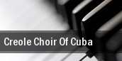 Creole Choir Of Cuba Tampa tickets