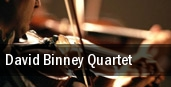 David Binney Quartet Plaza Del Sol Performance Hall tickets