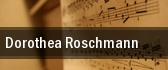 Dorothea Roschmann New York tickets