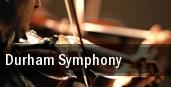 Durham Symphony tickets
