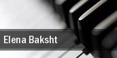 Elena Baksht South Orange Performing Arts Center tickets