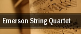 Emerson String Quartet tickets