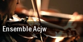 Ensemble ACJW New York tickets