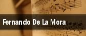 Fernando De La Mora tickets
