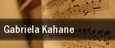 Gabriela Kahane New York tickets