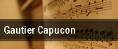 Gautier Capucon San Francisco tickets