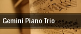 Gemini Piano Trio Carnegie Hall tickets
