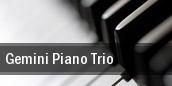 Gemini Piano Trio New York tickets