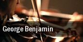 George Benjamin tickets