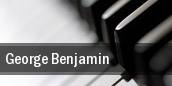 George Benjamin Lenox tickets