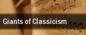Giants of Classicism Denver tickets