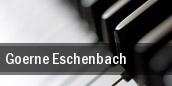 Goerne & Eschenbach Walt Disney Concert Hall tickets