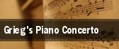 Grieg's Piano Concerto tickets