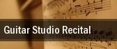 Guitar Studio Recital Cal State Northridge tickets